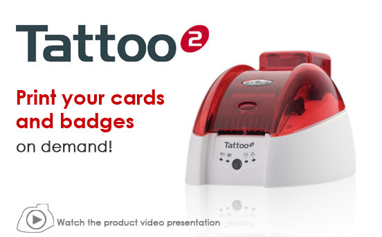 Evolis Tattoo2 Card Printer