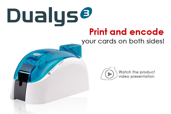 Evolis Dualys3 Card Printer Card Printing Solution in Faridabad>