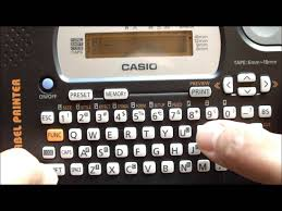 KL-820 Casio Label printers in Bareilly>