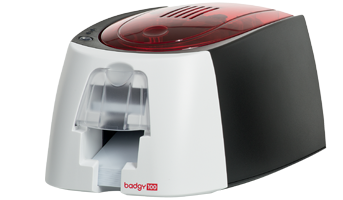Evolis Badgy 100 Card printer Card Printing Solution in Www.mindwareindia.com