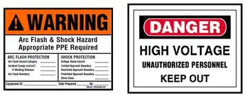 Warning-Security Labels