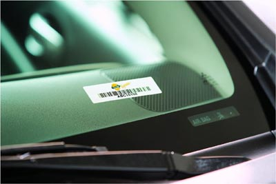 RFID Windshield Labels