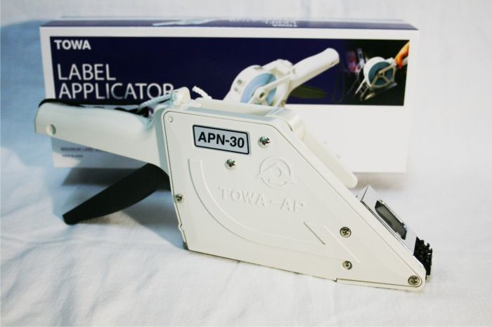 towa apn-30 label applicator